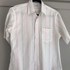 Striped button down shirt - Made in the USA!